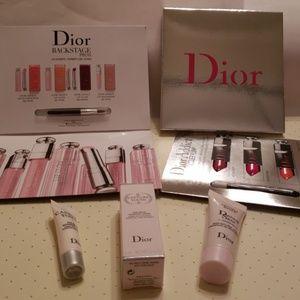 New DIOR bundle:lip glow, lacquer plump, dreamskin
